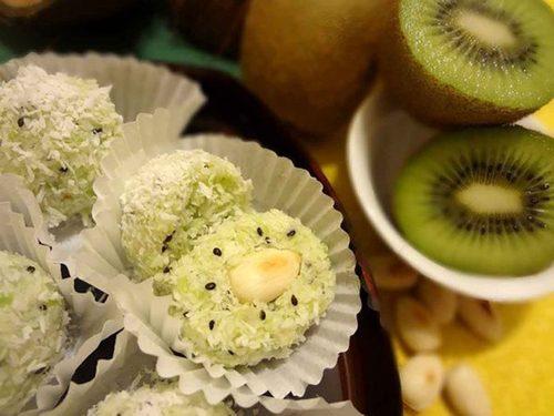Вкусные и полезные, всеми любимые конфеты «Рафаэлло» с киви