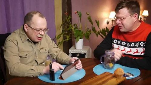 Отношения с Беларусью обсуждают депутат Лаврентий Августович и его помощник Шурка