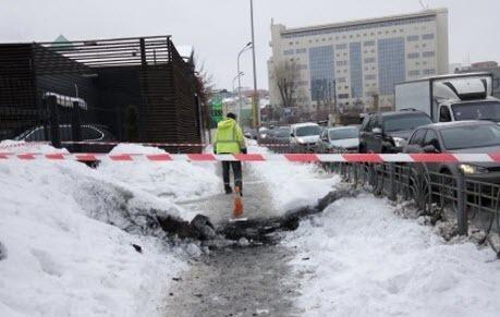 В Киеве произошел мощный взрыв, есть раненые
