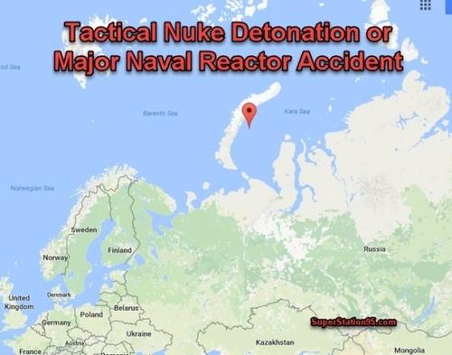 Зафиксирован радиоактивный выброс в районе Новой Земли