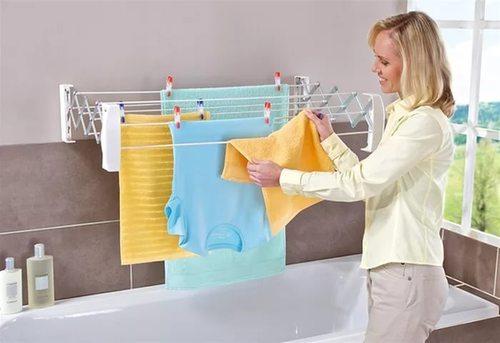 Почему нельзя сушить бельё прямо в квартире