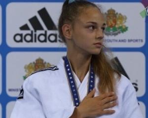 16-летняя украинка выиграла международный турнир по дзюдо