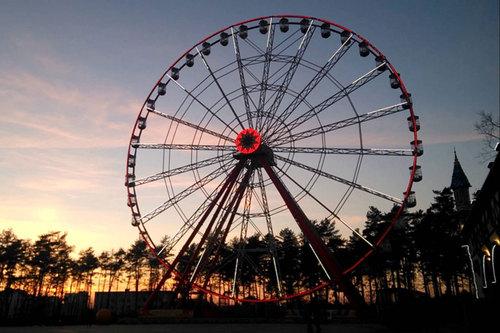 В парке Горького мужчина покончил с собой выпрыгнув с колеса обозрения