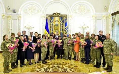 Выдающихся украинок наградили к Международному женскому дню