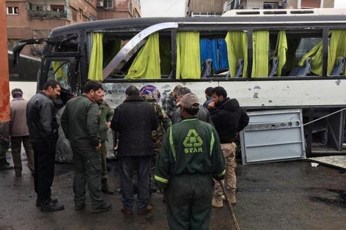 Число жертв взрыва в Дамаске возросло до 74