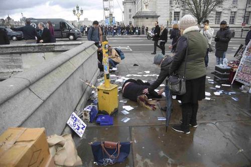 Число жертв теракта в центре Лондона возросло до 5, ранены 40 человек