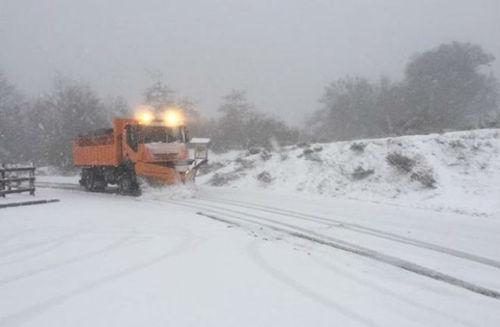 После жары в Испанию вернулся снег
