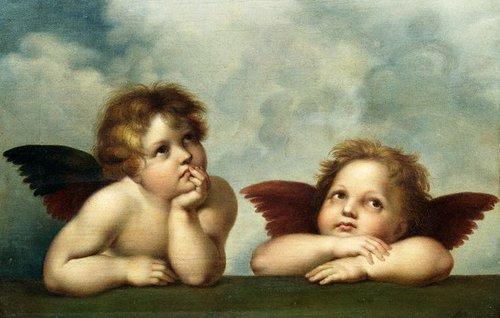 Разговор двух ангелов