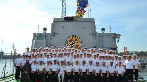 Бывшие курсанты из Севастополя стали офицерами украинского морского флота