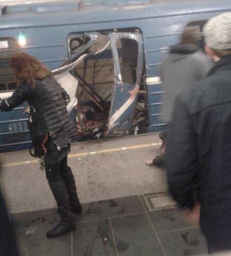 Количество пострадавших в результате теракта в Питере увеличилось до 40 (ВИДЕО)