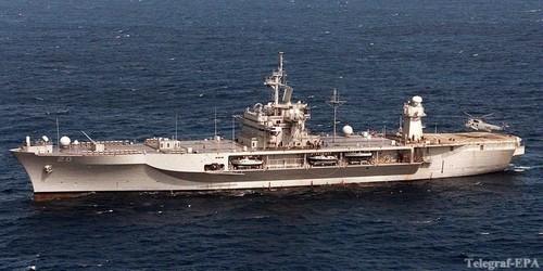Ударная группа ВМС США направилась к Корейскому полуострову