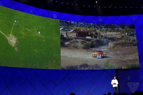 Facebook разрабатывает вертолет для раздачи интернета во время катастроф