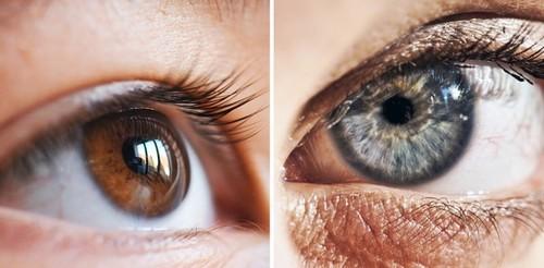 Почему карие глаза на самом деле голубые?
