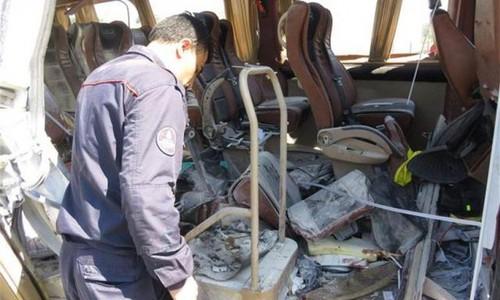 В Стамбуле взорвался автобус со студентами