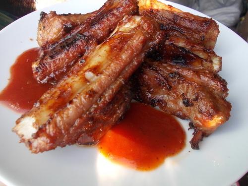 Мамины секреты - «Свиные ребрышки-барбекю с ароматным соусом»