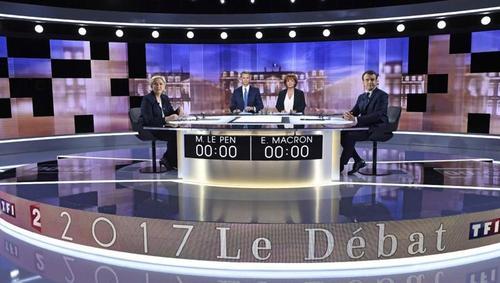 Французские журналисты уличили Марин Ле Пен во лжи на теледебатах