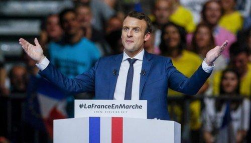 Макрон обещает, что при его президентстве Франция будет отстаивать интересы Украины