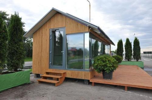 Впервые в мире: Дом, для которого не нужны газ, электросеть и вода, создали украинцы
