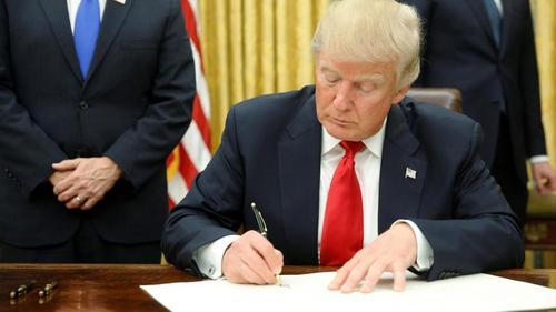 Трамп подписал бюджет США, который предусматривает помощь Украине