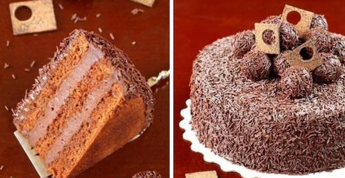 Праздник для души и тела: Бразильский торт «Brigadeiro»