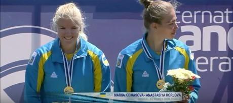 """Украинские байдарочницы выиграли """"золото"""" в двойке на этапе Кубка мира"""