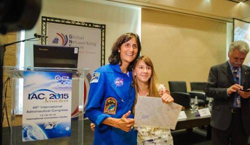 13-летняя израильтянка изобрела систему по производству кислорода в космосе