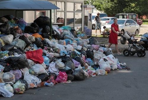 Взяли измором: голодные депутаты добились вывоза мусора из Львова