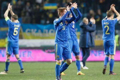 Украина взлетела на 12 позиций в рейтинге ФИФА