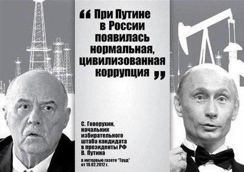 Путинской коррупции нет аналогов в мире - часть 2