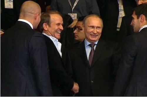 Путин встретился в Крыму с Виктором Медведчуком