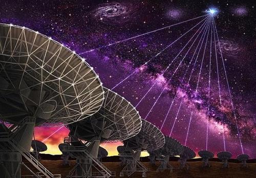 Из космоса зарегистрировали серию из 15 повторяющихся быстрых радиоимпульсов