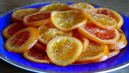 Карамелизированные апельсины