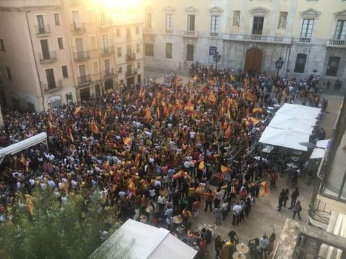Многие каталонцы не хотят независимости от Испании