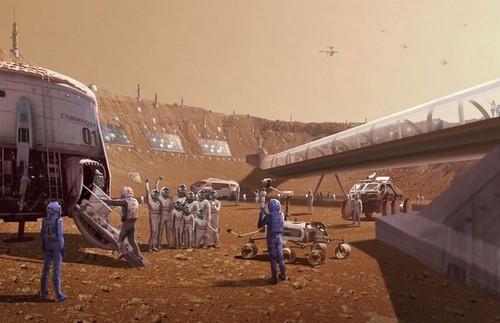 Рабство на Марсе и план Илона Маска
