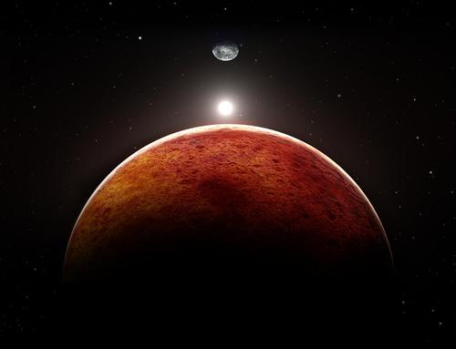 На Марсе люди будут стареть быстрее