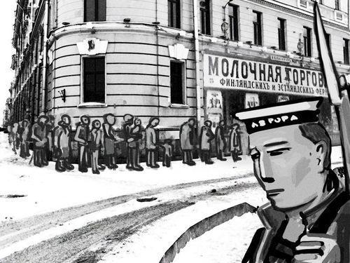 """Добро пожаловать в Петроград: """"Щелкунчик"""", наглые извозчики и котлеты по 1 р. 75коп."""