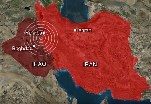 Землетрясение в Ираке и Иране: Более 450 жертв