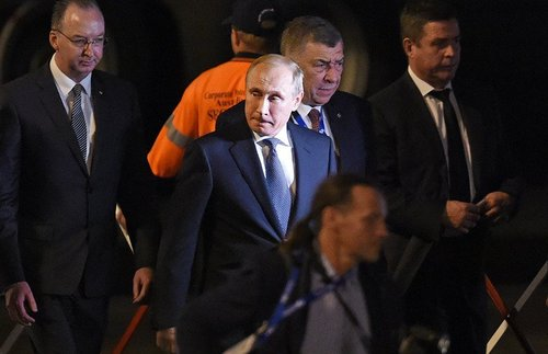 Австралийские чиновники отказались приветствовать прибывшего с визитом Путина
