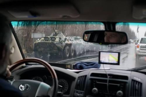 В Луганск зашли танки. Плотницкий бежал в Россию