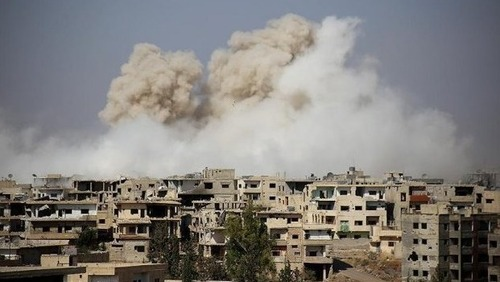 Авиация РФ сбросила бомбы на пригород Дамаска: погибло много местных жителей