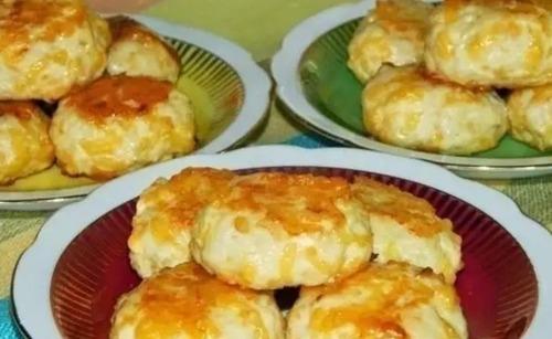 Мамины секреты «Куриные котлетки с сыром»