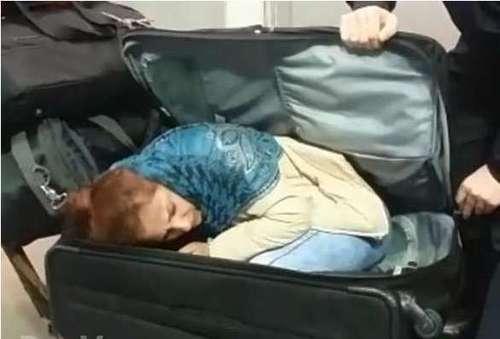В Турции пограничники нашли в чемодане 22-летнюю грузинку