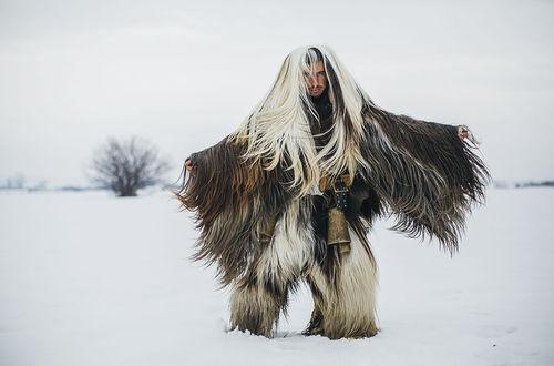 Новогодний ритуал в Болгарии