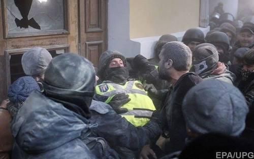 Столкновения под Октябрьским дворцом