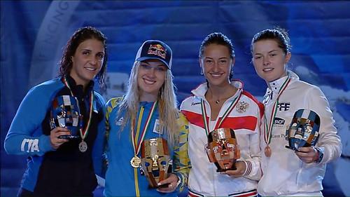 Ольга Харлан выиграла этап Кубка мира