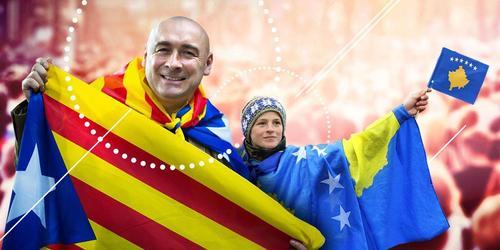 Косово vs Каталония: почему Запад признал первых, и не признает вторых