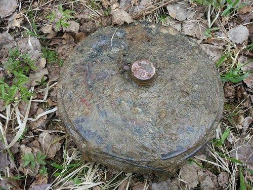 В Киеве на Борщаговке обнаружили минометную мину