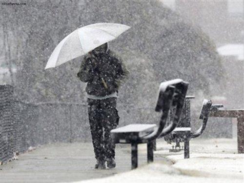 Прогноз погоды в Украине на 8 января