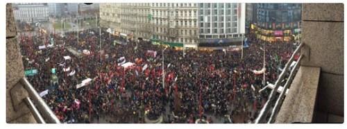 В Австрии протестовали против нового правительства