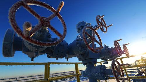 Украина из-за морозов почти вдвое увеличила отбор газа из хранилищ